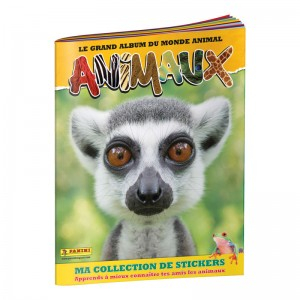 ALBUM STICKERS FR - ANIMAUX...