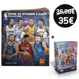 PACK DECOUVERTE -  NBA 2021...