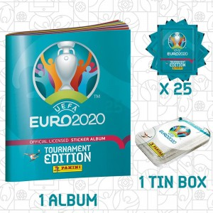 PACK DECOUVERTE - UEFA EURO...