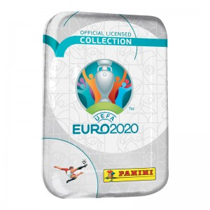 TIN BOX -45 STICKERS- UEFA...