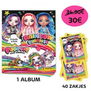PACK PROMO NL -1 ALBUM+200...