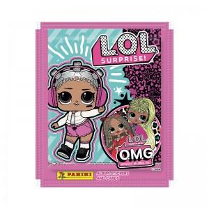 Zakje van 5 stickers L.O.L....