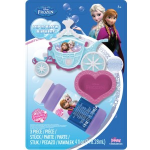 LA REINE DES NEIGES - BLISTER DIP-BLOW BUBBLES MAKER