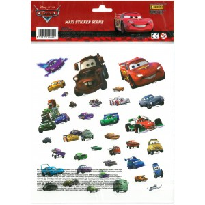 CARS (MAXI STICKERS SCENE)...