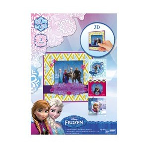 FROZEN A4 SET - 3D CARD MAKING