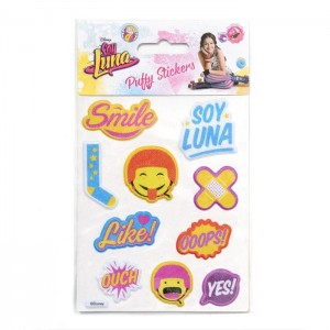STK PUFFY Stickers 3D - SOY LUNA