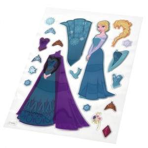 REINE DES NEIGES (DRESS UP...