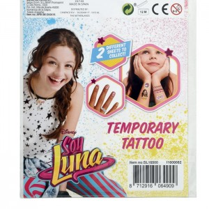 SOY LUNA - TEMPORARY TATTOO