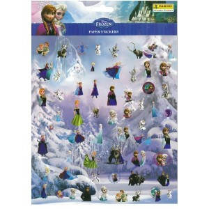 LA REINE DES NEIGES (PAPER STICKERS) - STICKER SHEET