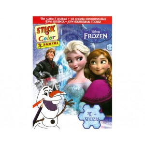 LA REINE DES NEIGES - ALBUM STICK-COLOR