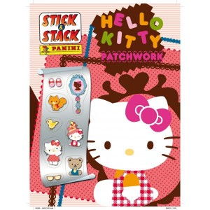 HELLO KITTY PATCHWORK - ALBUM STICK-STACK