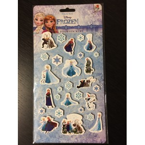 REINE DES NEIGES (FOAM STICKERS) - STICKER SHEET