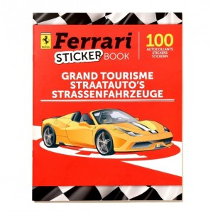 ALBUM - FERRARI STRAATAUTO'S - STICKER BOOK PANINI