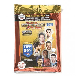 STARTER PACK - FIFA 365 2018 ADRENALYN TRADING CARDS