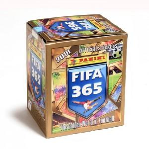 BOITE DE 50 POCHETTES STICKERS -  FIFA 365 2018 PANINI