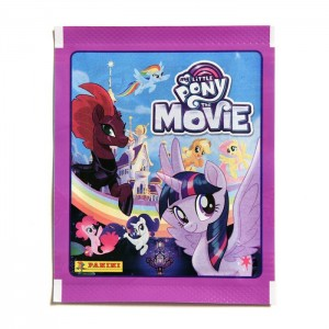 POCHETTE DE 5 STICKERS PANINI - MY LITTLE PONY MOVIE