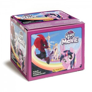 BOITE DE STICKERS PANINI - MY LITTLE PONY MOVIE