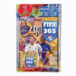 STARTER PACK DE STICKERS - FIFA 365 2018 PANINI