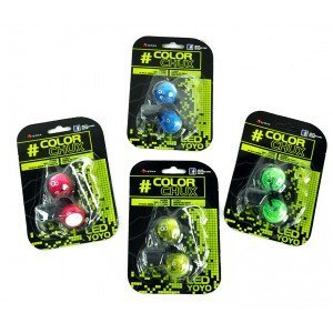 COLOR CHUX (4 couleurs) - led finger yo-yo