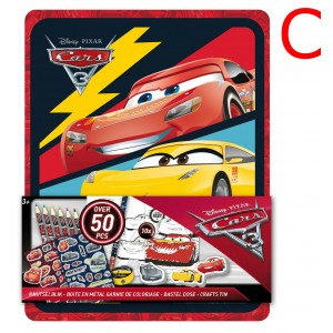 CARS 3 - CRAFTS TIN 3D