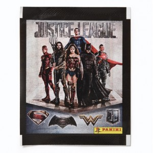 POCHETTE DE 5 STICKERS PANINI - JUSTICE LEAGUE