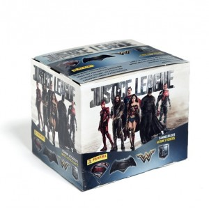 BOITE DE STICKERS PANINI - JUSTICE LEAGUE