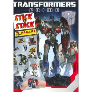 TRANSFORMERS PRIME - ALBUM STICK-STACK