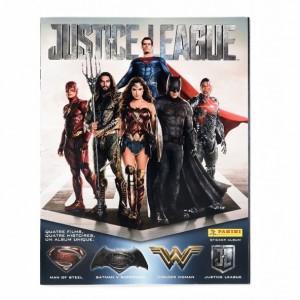 ALBUM FR JUSTICE LEAGUE - PANINI