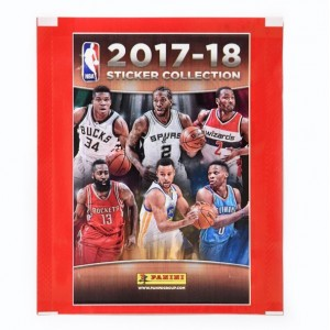POCHETTE DE 5 STICKERS PANINI - NBA 2018