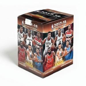 Boite 50 Pochettes de 5 stickers - NBA 2018 PANINI