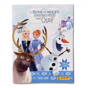ALBUM FR -JOYEUSES FÊTES AVEC OLAF- REINE DES NEIGES PANINI