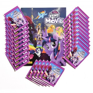 1 ALBUM FR+ 35 POCHETTES - PACK SPECIAL FR MY LITTLE PONY MOVIE