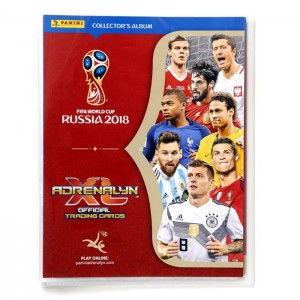 WC 2018 - RUSSIA - BINDER TCG ADRENALYN PANINI