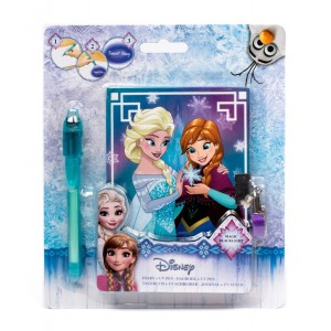 FROZEN - SECRET DIARY 2+ UV PEN - REINE DES NEIGES