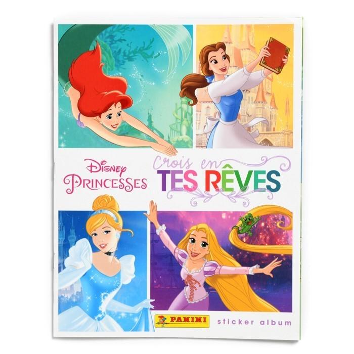 ALBUM FR DISNEY PRINCESSES CROIS EN TES RÊVES - PANINI
